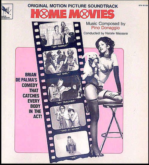HOME MOVIES ~ Nr-Mint '80 BRIAN DePALMA Movie Soundtrack Vinyl LP ~ PINO DONAGGIO