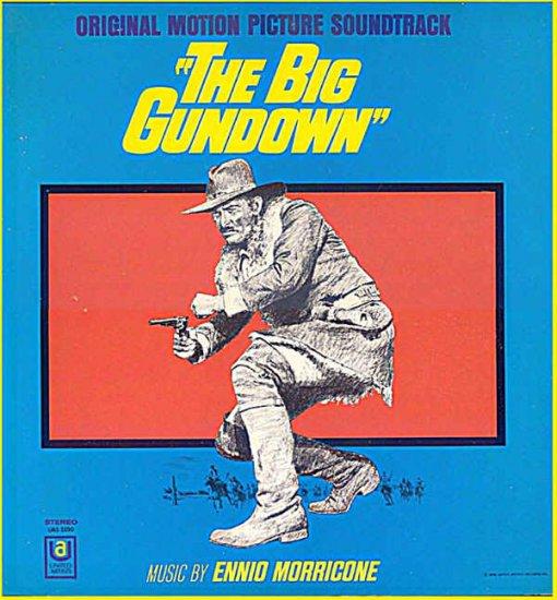 BIG GUNDOWN ~ Out-Of-Print '68 Movie Soundtrack Vinyl LP ~ ENNIO MORRICONE