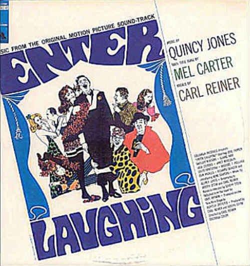 ENTER LAUGHING ~ Out-Of-Print '67 Movie Soundtrack Vinyl LP ~ Quincy JONES / Carl REINER