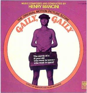 GAILY, GAILY ~ NR-MINT '69 Out-Of-Print Movie Soundtrack Vinyl LP ~ Rare HENRY MANCINI / ANITA NYE