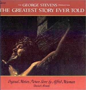 GREATEST STORY EVER TOLD ~ '65 Out-Of-Print Movie Soundtrack Vinyl LP ~ ALFRED NEWMAN