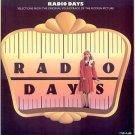 RADIO DAYS ~ Nr-Mint '87 Movie Soundtrack Vinyl LP ~ DUKE ELLINGTON / GLENN MILLER / XAVIER CUGAT
