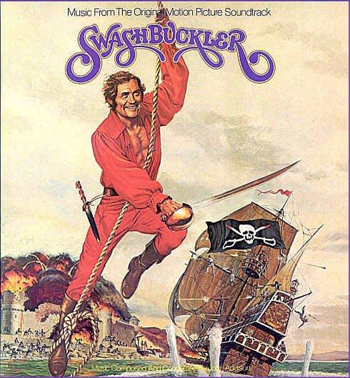 SWASHBUCKLER ~ Nr-Mint Out-Of-Print '76 Movie Soundtrack Vinyl LP ~ JOHN ADDISON