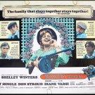 BLOODY MAMA ~ '70 Half-Sheet Movie Poster ~ Robert DeNIRO / Shelley WINTERS / Roger CORMAN