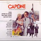 CAPONE ~ '75 Gangster Half-Sheet Movie Poster ~ BEN GAZZARA / SUSAN BLAKELY / JOHN CASSAVETES
