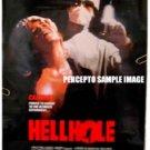 HELLHOLE ~ '87 Cult Horror 1-Sheet Movie Poster ~ JUDI LANDERS / RAY SHARKEY / MARJOE GORTNER