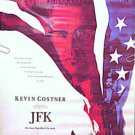 JFK ~ Ex-Cond Rolled '91 1-Sheet Movie Poster ~ KEVIN COSTNER / OLIVER STONE / KEVIN BACON