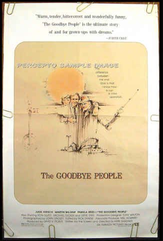 GOODBYE PEOPLE ~ '84 1 Sheet Movie Poster~ CONEY ISLAND RIDES / MARTIN BALSAM / JUDD HIRSCH