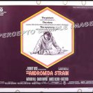 ANDROMEDA STRAIN ~ '71 MICHAEL CRICHTON Half-Sheet SCI-FI Movie Poster ~ ARTHUR HILL / DAVID WAYNE