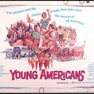 YOUNG AMERICANS ~ Rare-Size '67 Half-Sheet MUSICAL Movie Poster ~ 60s FEELGOOD Music Group