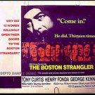THE BOSTON STRANGLER ~ '68 Half-Sheet Movie Poster ~ TONY CURTIS / HENRY FONDA / GEORGE KENNEDY