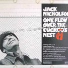 ONE FLEW OVER THE CUCKOO'S NEST ~ Rare-Size 1975 Half-Sheet US Movie Poster ~ JACK NICHOLSON