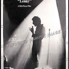 LENNY ~ '74 Rare Size 40X60 Movie Poster ~ DUSTIN HOFFMAN / BOB FOSSE / LENNY BRUCE / STAND UP COMIC