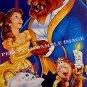 BEAUTY AND THE BEAST ~ WALT DISNEY Orig '92 1-Sheet Movie Poster ~ ANIMATION ART