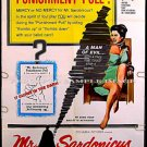 Mr SARDONICUS ~ '61 WILLIAM CASTLE 1-Sheet Gimmick Horror Movie Poster ~ GUY ROLFE / OSCAR HOMOLKA