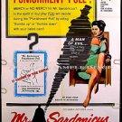 Mr SARDONICUS ~ '61 WILLIAM CASTLE 1-Sheet Gimmick Horror Movie Poster ~ GUY ROLFE / OSCAR HOMOLKA