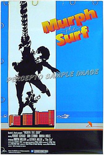 Murph The Surf 85 Action Caper Movie Poster Robert