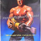 The DESTROYER ~ '88 Action 1-Sheet Movie Poster ~ LYLE ALZADO / ANTHONY PERKINS / NFL RAIDERS STAR