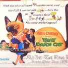 THAT DARN CAT ~ '73 Half-Sheet WALT DISNEY Movie Poster ~ HAYLEY MILLS / DEAN JONES
