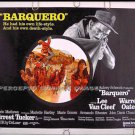 BARQUERO ~ '70 Western Half-Sheet Movie Poster ~ LEE VAN CLEEF / MARIETTE HARTLEY / WARREN OATES