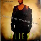 ALIEN 3 ~ '92 1-Sheet Sci-Fi Movie Poster ~ SIGOURNEY WEAVER / LANCE HENRICKSEN