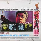 DEADFALL ~ '68 Rolled Half-Sheet Movie Poster ~ MICHAEL CAINE / BRYAN FORBES / CRIME CAPER THRILLER
