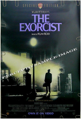 The EXORCIST ~ '98 Special Edition 1-Sheet Movie Poster ~ LINDA BLAIR / ELLEN BURSTYN