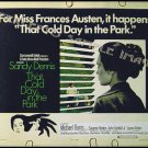 THAT COLD DAY IN THE PARK ~ '69 SEX THRILLER Half-Sheet Movie Poster ~ ROBERT ALTMAN / SANDY DENNIS