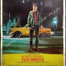TAXI DRIVER ~ RARE-SIZE 40X60 '76 Movie Poster ~ ROBERT DeNIRO / MARTIN SCORSESE / JODIE FOSTER
