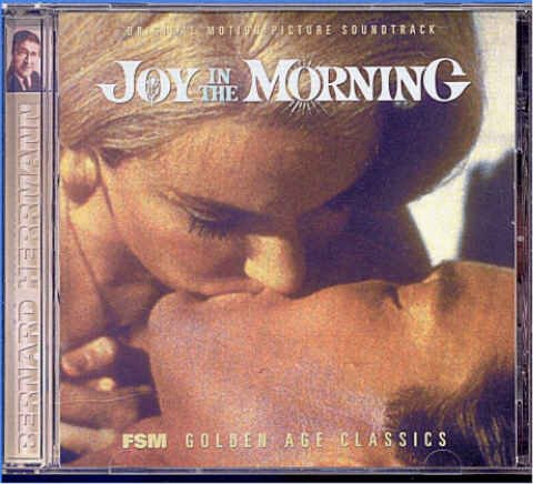 JOY IN THE MORNING ~ ORIGINAL 1965 Movie Soundtrack CD ~ BERNARD HERRMANN / RICHARD CHAMBERLAIN
