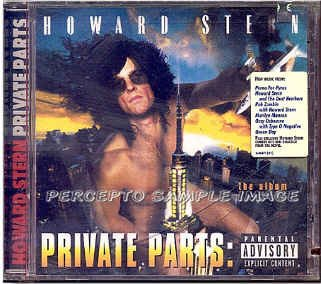 PRIVATE PARTS ~  NEW Limited Edition CD Movie Soundtrack ~ Rare Cover: HOWARD STERN as KING KONG