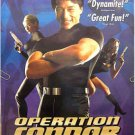 OPERATION CONDOR / ARMOUR OF GOD 2 ~  '97 US 1-Sheet Movie Poster ~ JACKIE CHAN / CAROL CHENG