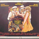 LUCKY LADY ~ AMSEL ART '75 Half-Sheet Movie Poster ~  LIZA MINNELLI / BURT REYNOLDS / GENE HACKMAN