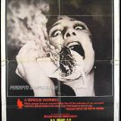 BUG ~ '75 1-Sheet WILLIAM CASTLE Movie Poster ~  BRADFORD DILLMAN / PATTY McCORMACK / JOANNA MILES