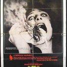 BUG ~ '75 1-Sheet WILLIAM CASTLE Movie Poster ~  BRADFORD DILLMAN / PATTY McCORMACK / JOANNA MILES