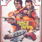 RACE WITH THE DEVIL ~ '75 40x60 Movie Poster ~ PETER FONDA / WARREN OATES / LARA PARKER