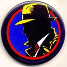 DICK TRACY ~ Original 1990 Disney Movie Promo Pinback ~ WARREN BEATTY