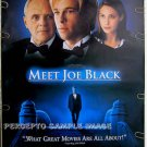 MEET JOE BLACK ~ Orig '98 1-Sheet Movie Poster ~  BRAD PITT / ANTHONY HOPKINS
