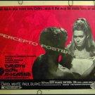 DADDY'S GONE A HUNTING ~ '69 Half-Sheet Movie Poster ~ CAROL WHITE / SCOTT HYLANDS / PAUL BURKE