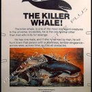 ORCA The Killer Whale ~  '77 40X60 Movie Poster ~ RICHARD HARRIS / CHARLOTTE RAMPLING / BO DEREK