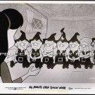 MR MAGOO'S LITTLE SNOW WHITE ~ Rare '70 Original Movie Photo #2 ~ CARTOON ANIMATION / SEVEN DWARFS