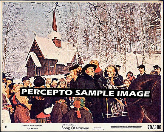SONG OF NORWAY ~ Original '70 Color Movie Photo ~ FLORENCE HENDERSON / HARRY SECOMBE