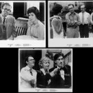 TAKING OFF ~ Set of THREE (3) Orig '71 Movie Photos ~ BUCK HENRY / GEORGIA ENGEL / AUDRA LINDLEY