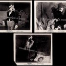 The SKULL ~ Lot of THREE Orig '65 Cult Horror Movie Photos ~ PETER CUSHING / PATRICK McGOOHAN
