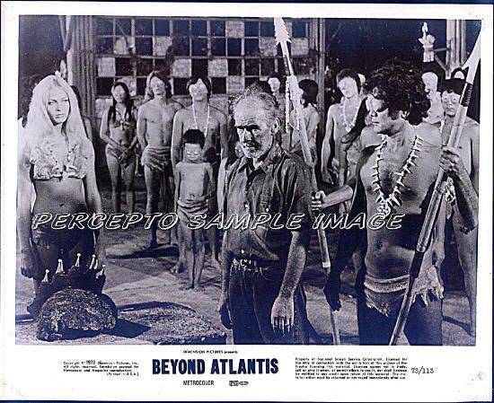BEYOND ATLANTIS ~ '73 Original CULT CLASSIC Movie Photo #1~ Sexy LENORE STEVENS