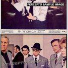 SICILIAN CLAN ~ Lot of TWO (2) Orig '70 Color Movie Photos ~ ALAIN DELON / ROD STEIGER
