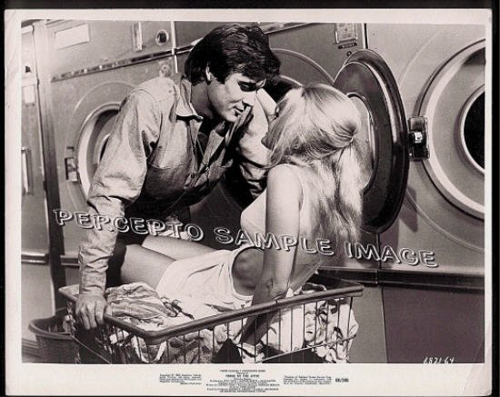 THREE IN THE ATTIC ~ Sexy '68 Orig Movie Photo ~ YVETTE MIMIEUX / CHRISTOPHER JONES