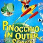 PINOCCHIO IN OUTER SPACE - Rare '69 Half-Sheet Cartoon Movie Poster - ANIMATION ART