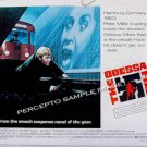 The ODESSA FILE ~ Ex-Cond '74 Half-Sheet SPY THRILLER Movie Poster ~ JON VOIGHT