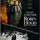 ROBIN HOOD Prince of Thieves ~ '91 Rolled 1-Sheet Movie Poster ~ KEVIN COSTNER  / MORGAN FREEMAN